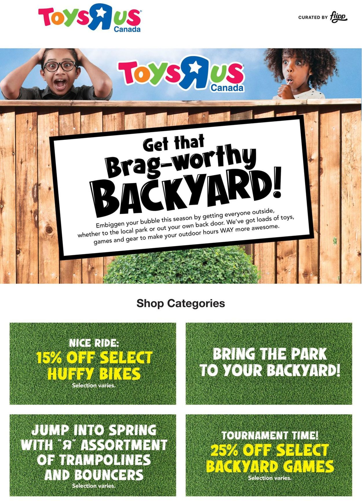 Toys''R''Us Flyer - 04/08-04/14/2021