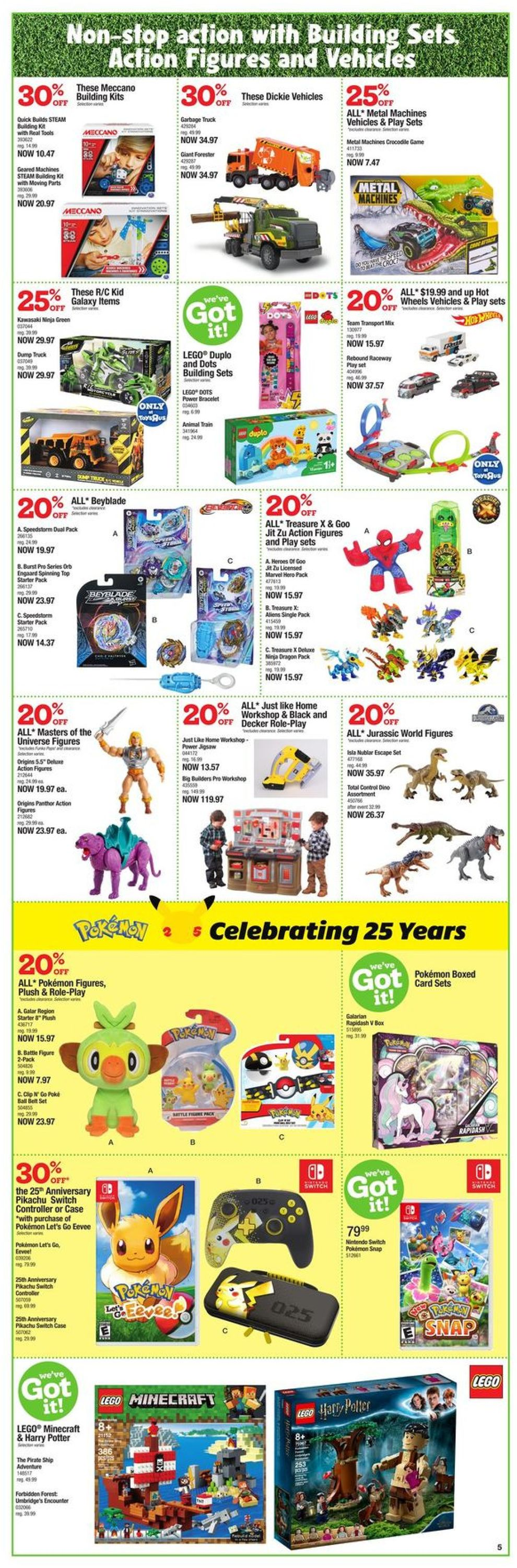Toys''R''Us Flyer - 05/13-05/26/2021 (Page 6)