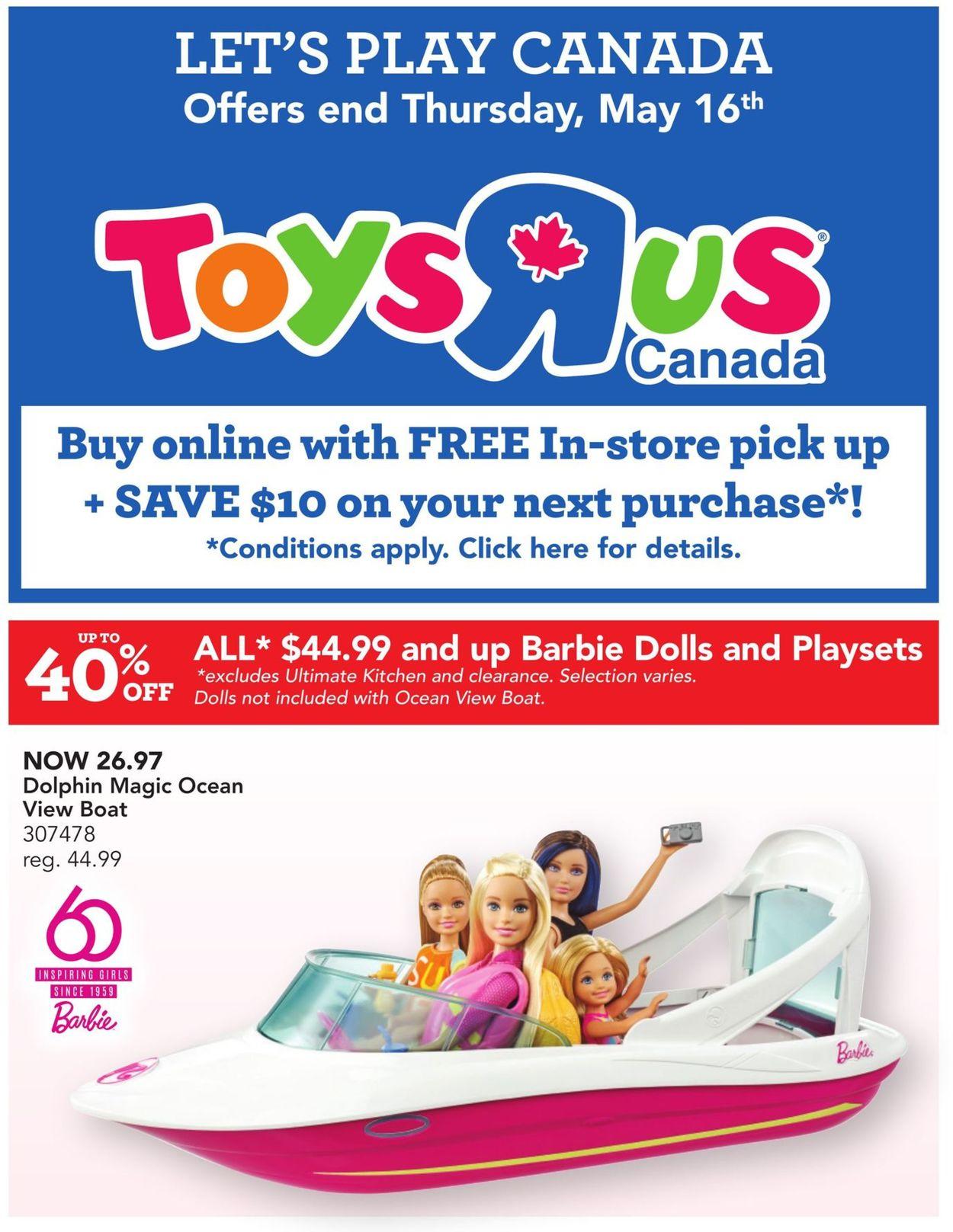 Toys''R''Us Flyer - 05/08-05/16/2019