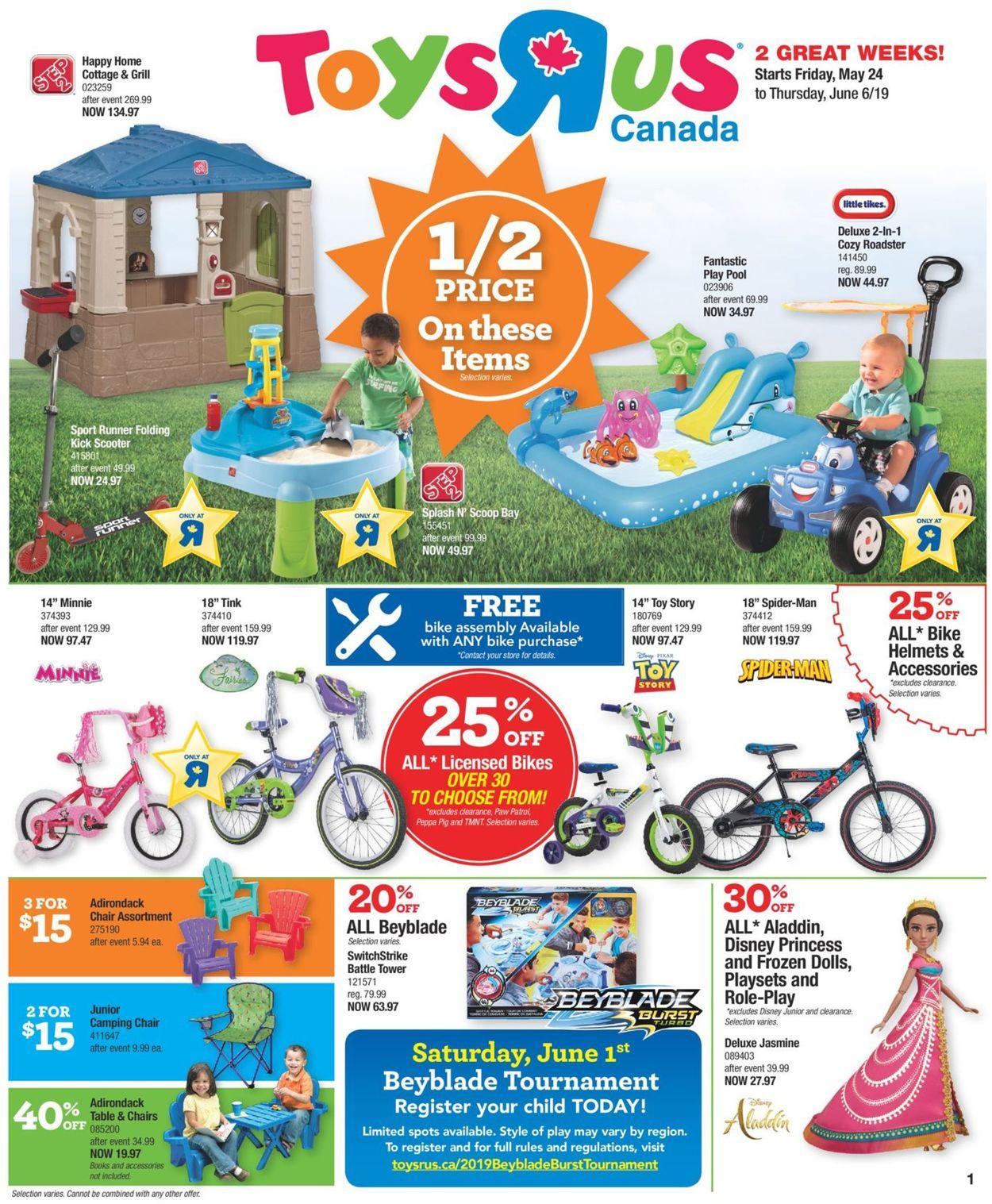 Toys''R''Us Flyer - 05/24-06/06/2019