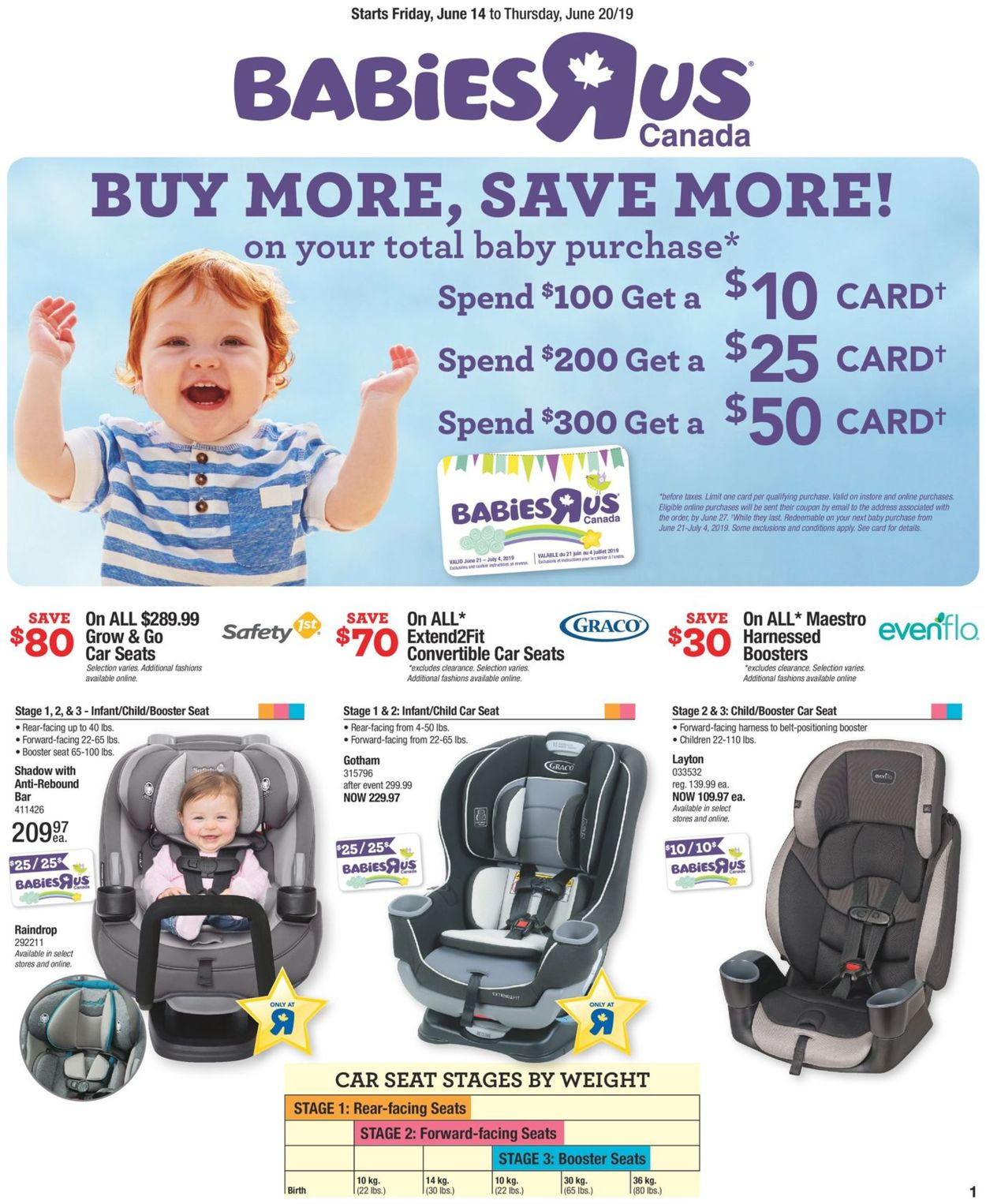 Toys''R''Us Flyer - 06/14-06/20/2019