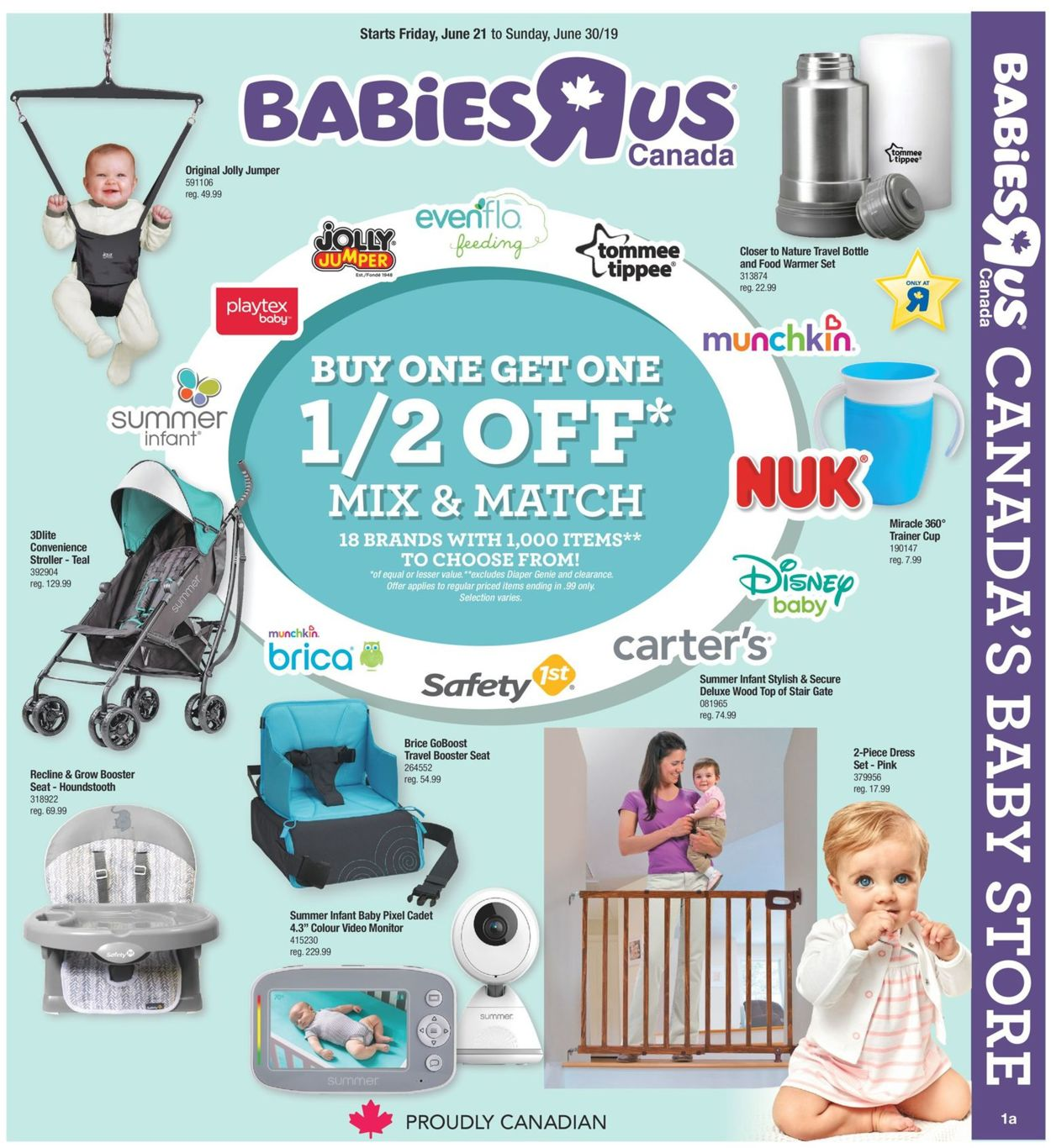 Toys''R''Us Flyer - 06/21-06/30/2019