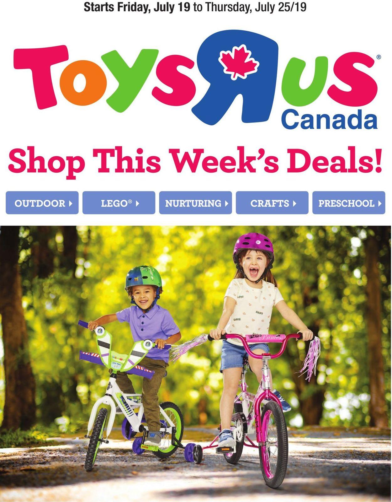 Toys''R''Us Flyer - 07/19-07/25/2019