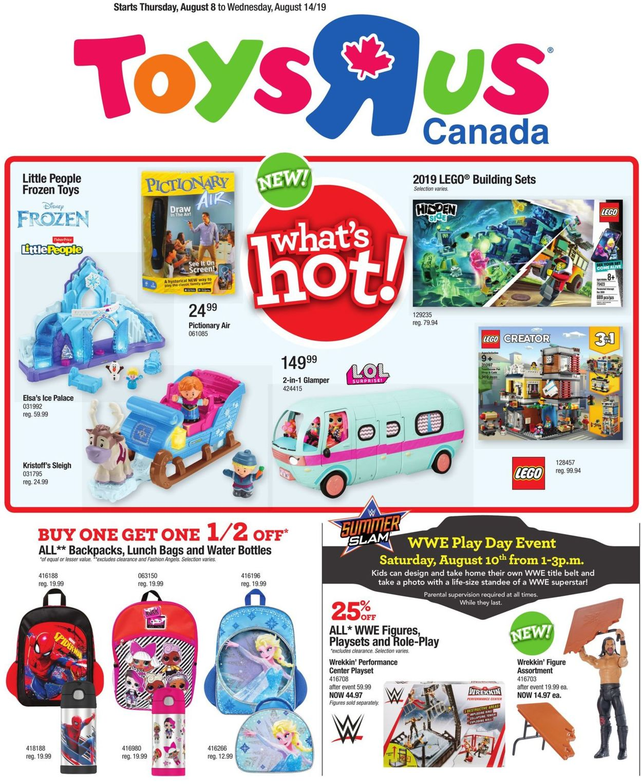 Toys''R''Us Flyer - 08/08-08/14/2019