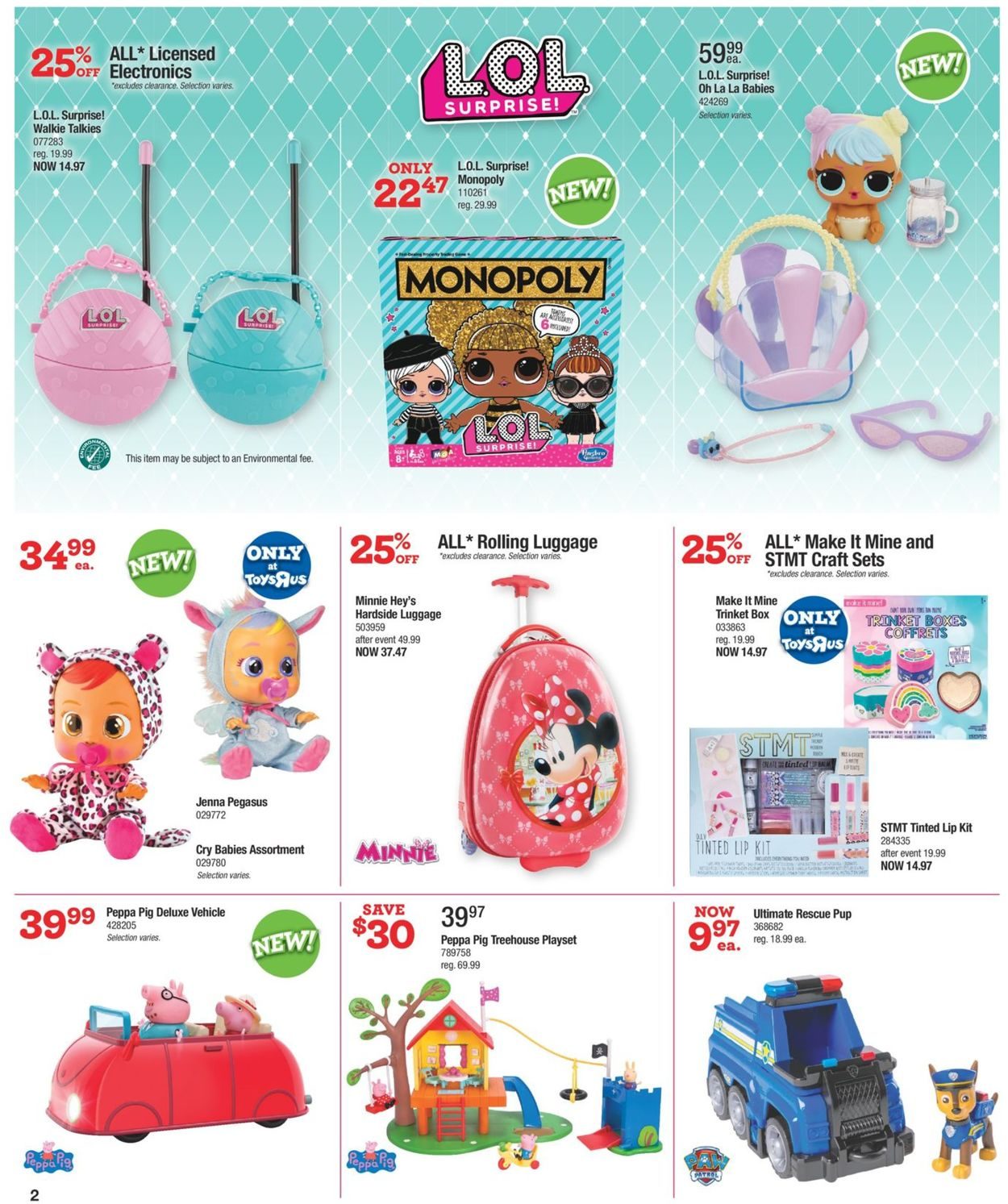 Toys''R''Us Flyer - 08/15-08/21/2019 (Page 2)