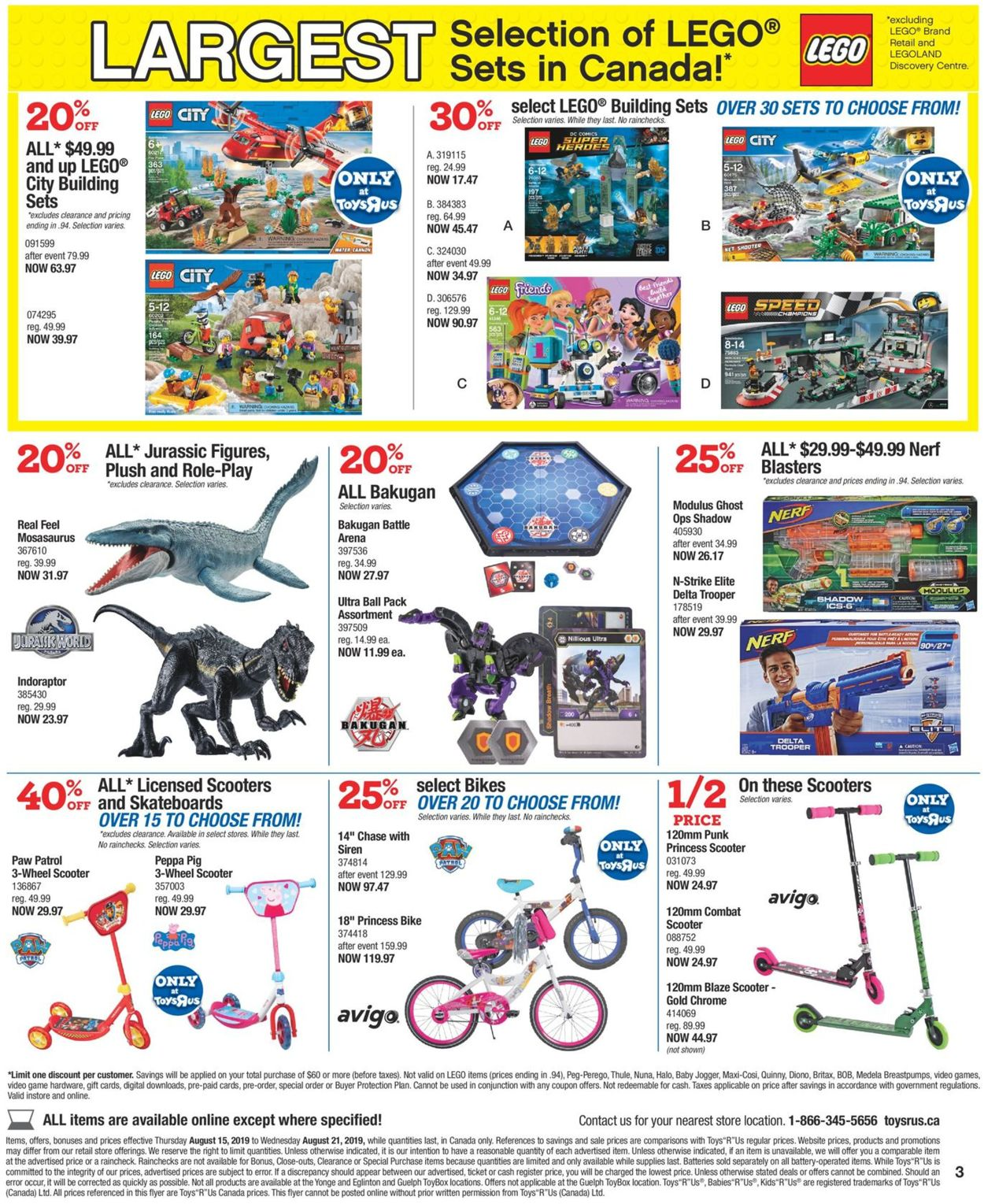 Toys''R''Us Flyer - 08/15-08/21/2019 (Page 3)
