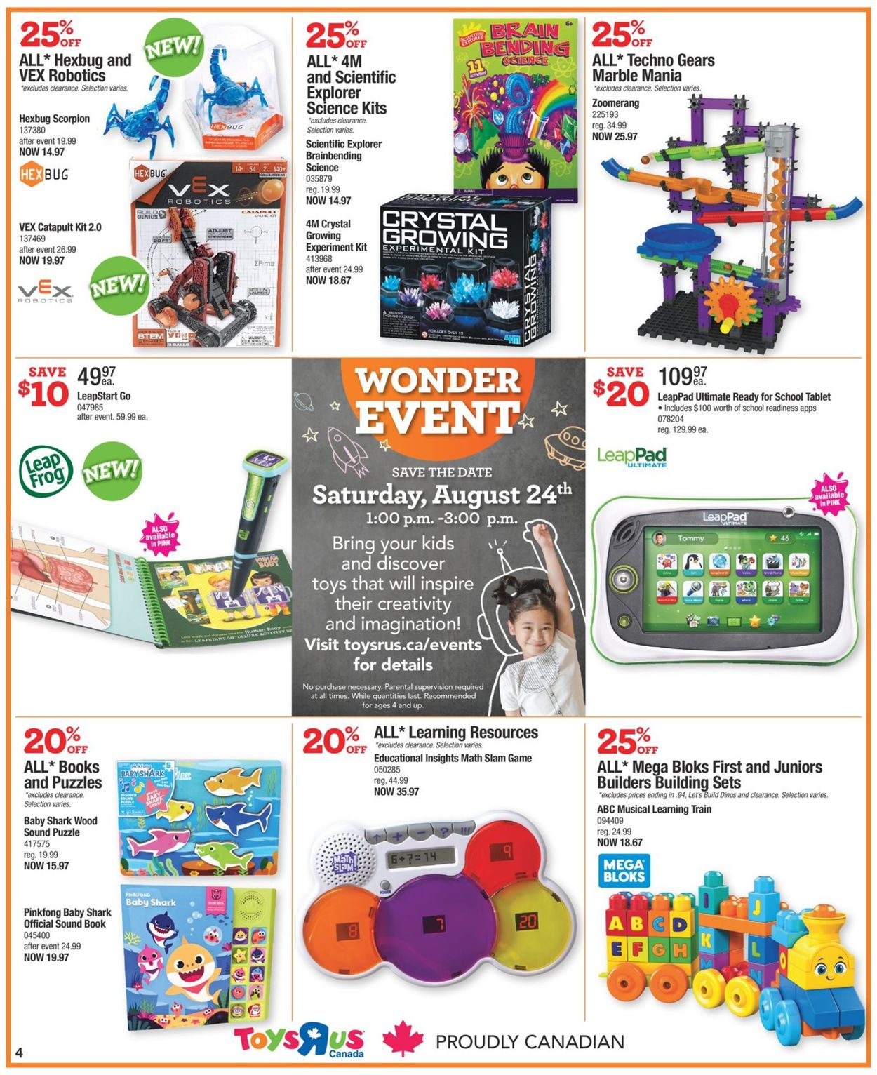 Toys''R''Us Flyer - 08/15-08/21/2019 (Page 4)