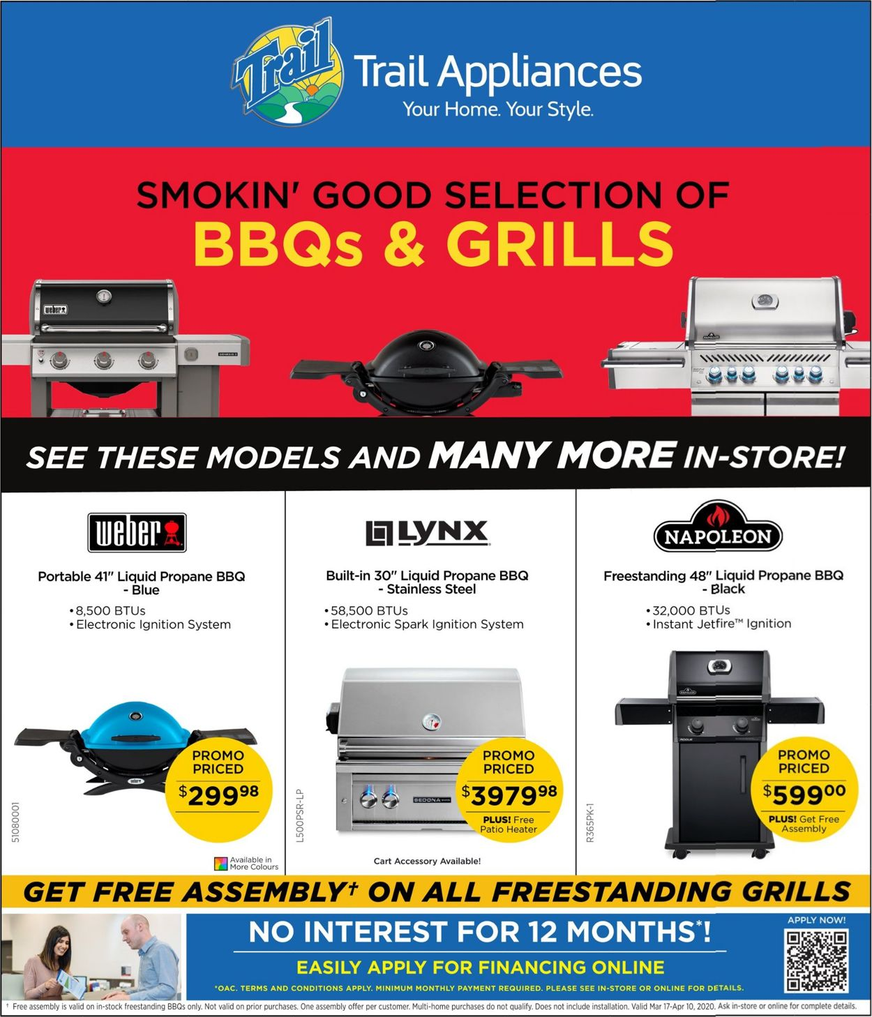 Trail Appliances Flyer - 03/17-04/10/2020
