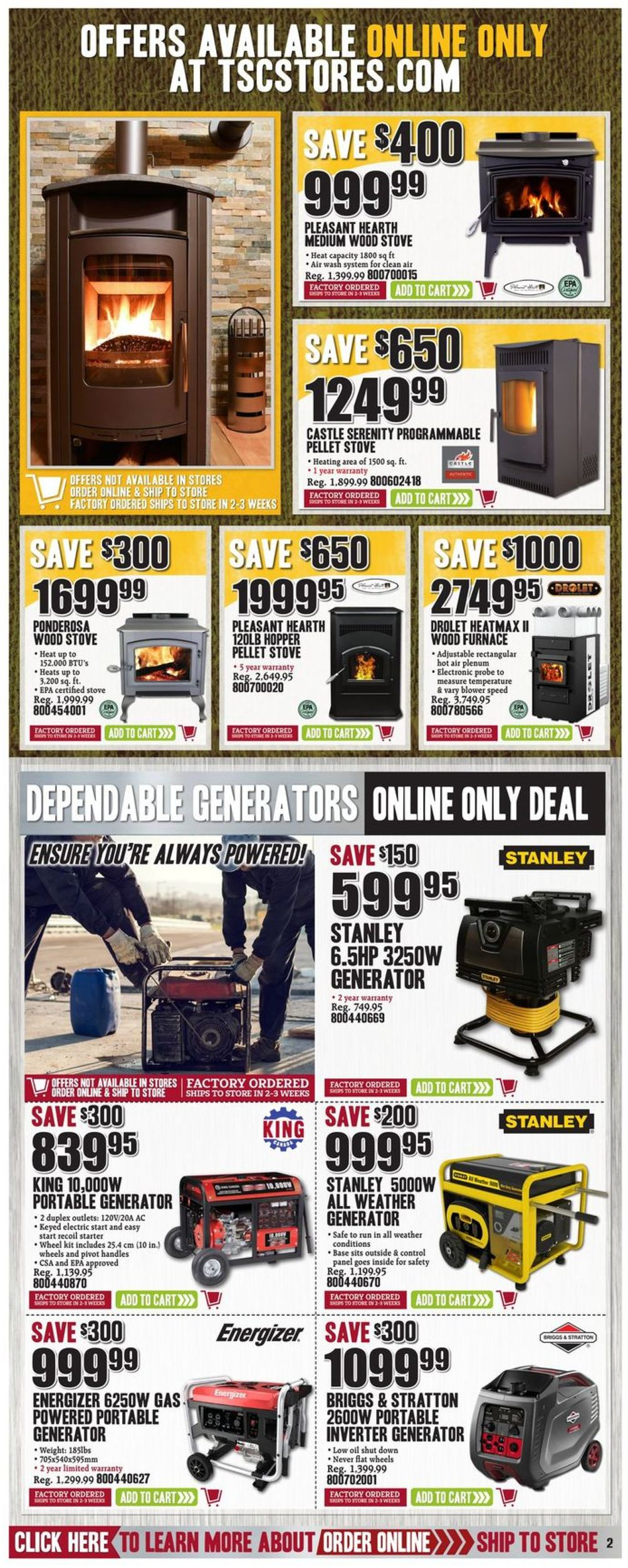 TSC Stores Flyer - 10/11-10/17/2019 (Page 14)