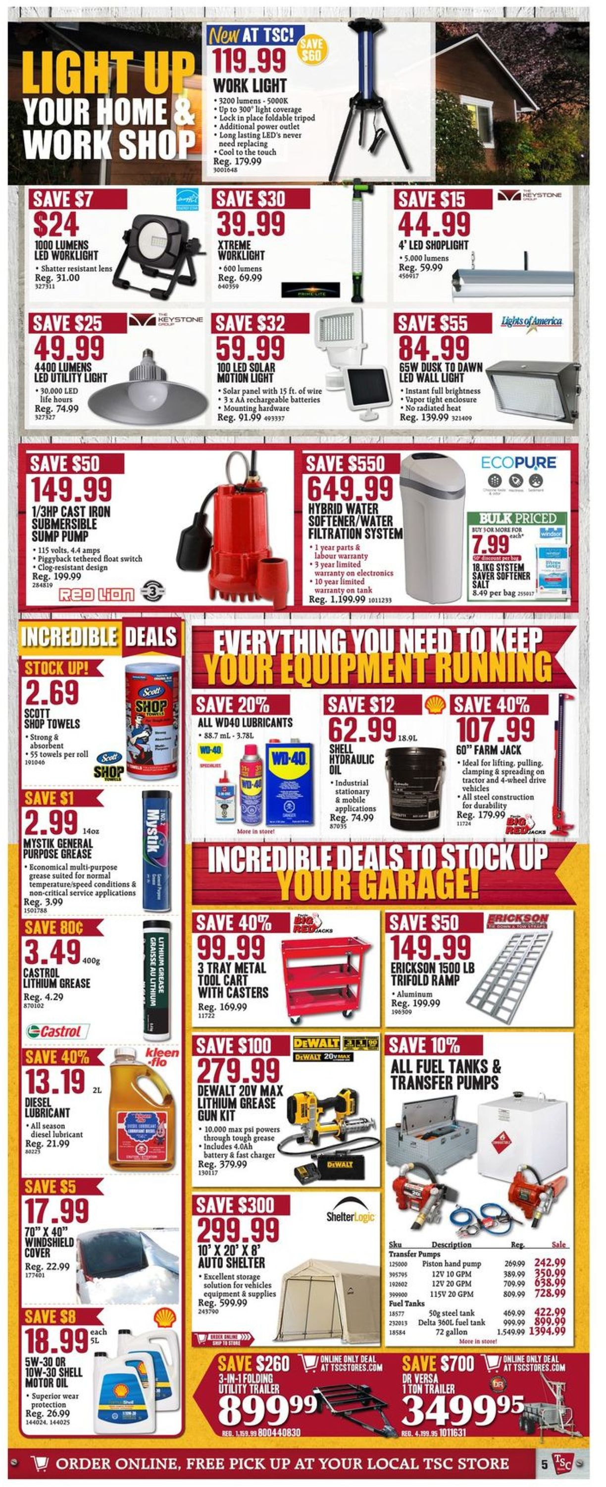 TSC Stores Flyer - 11/01-11/07/2019 (Page 7)