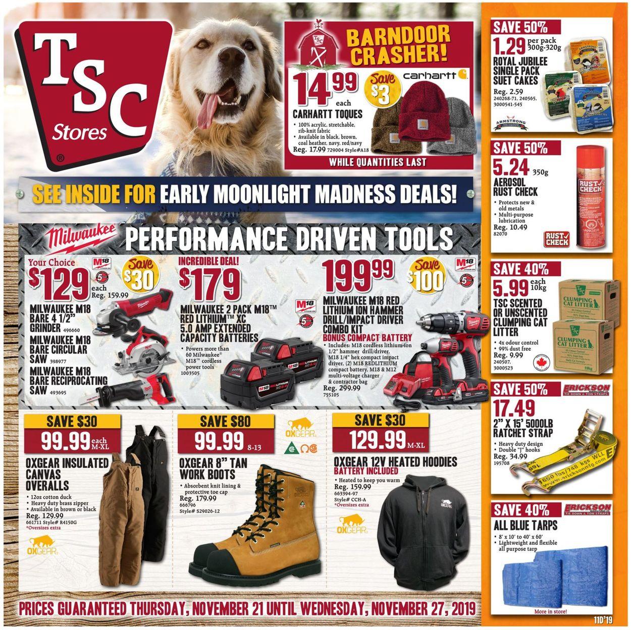 TSC Stores Flyer - 11/21-11/27/2019