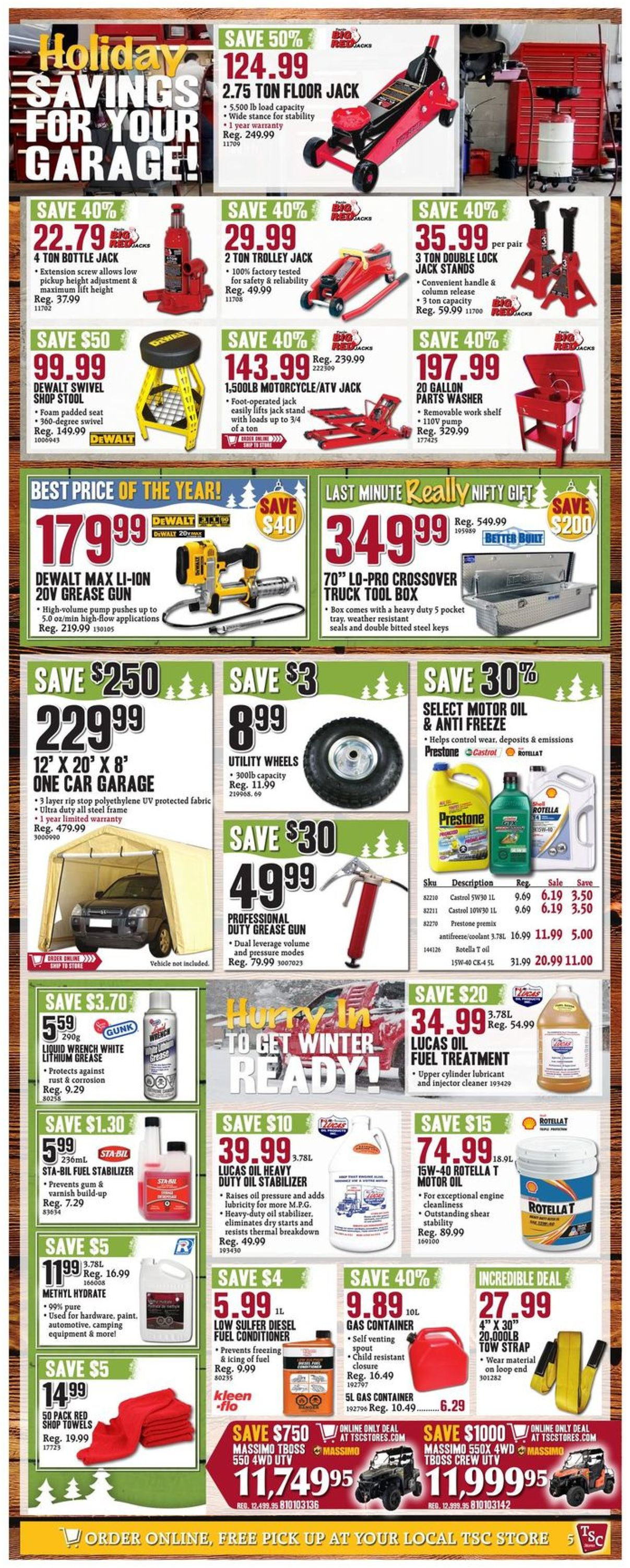 TSC Stores Christmas Flyer 2019 Flyer - 12/19-12/25/2019 (Page 7)