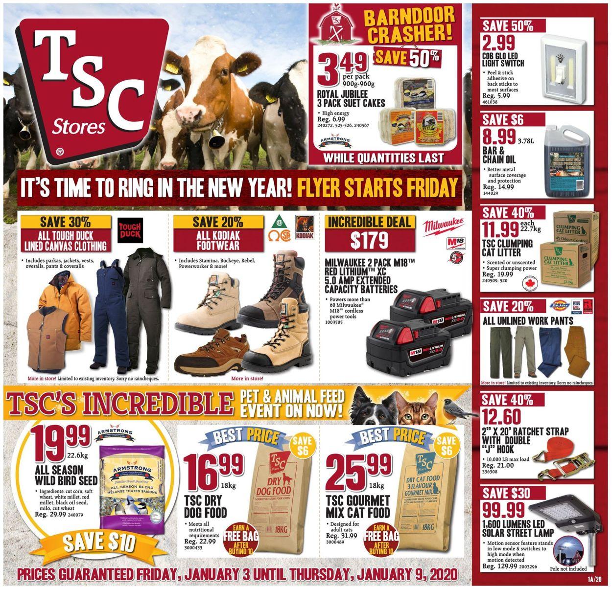 TSC Stores Flyer - 01/03-01/09/2020