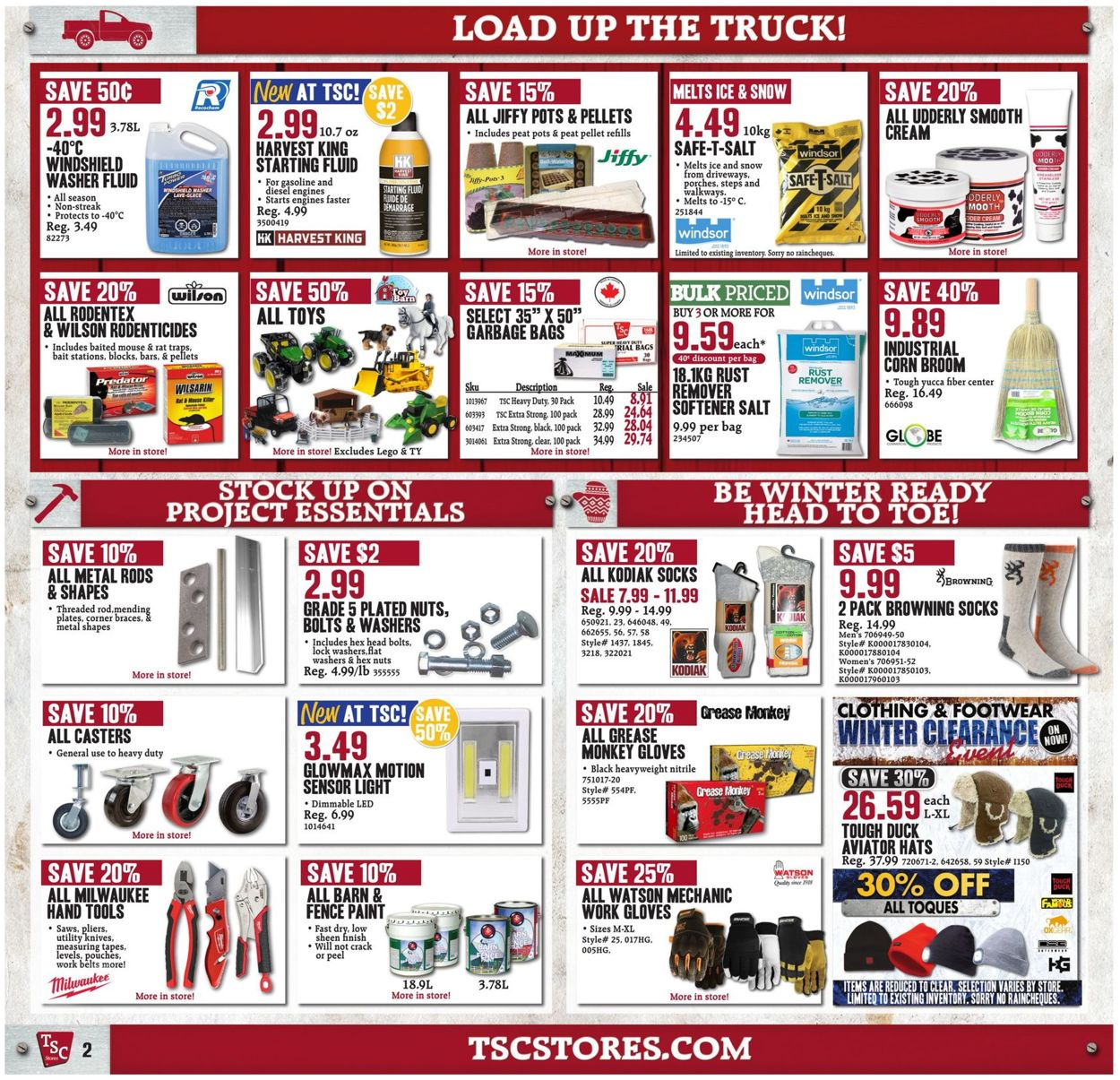 TSC Stores Flyer - 01/03-01/09/2020 (Page 2)