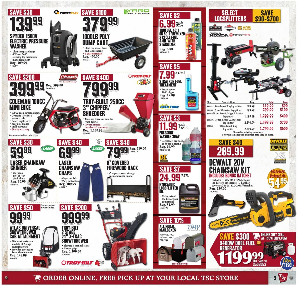 TSC Stores Flyer - 01/03-01/09/2020 (Page 5)