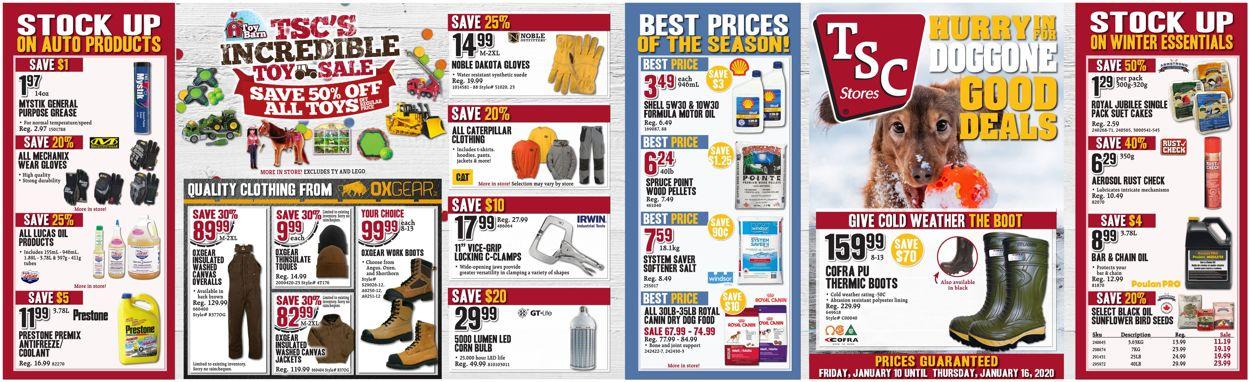 TSC Stores Flyer - 01/10-01/16/2020