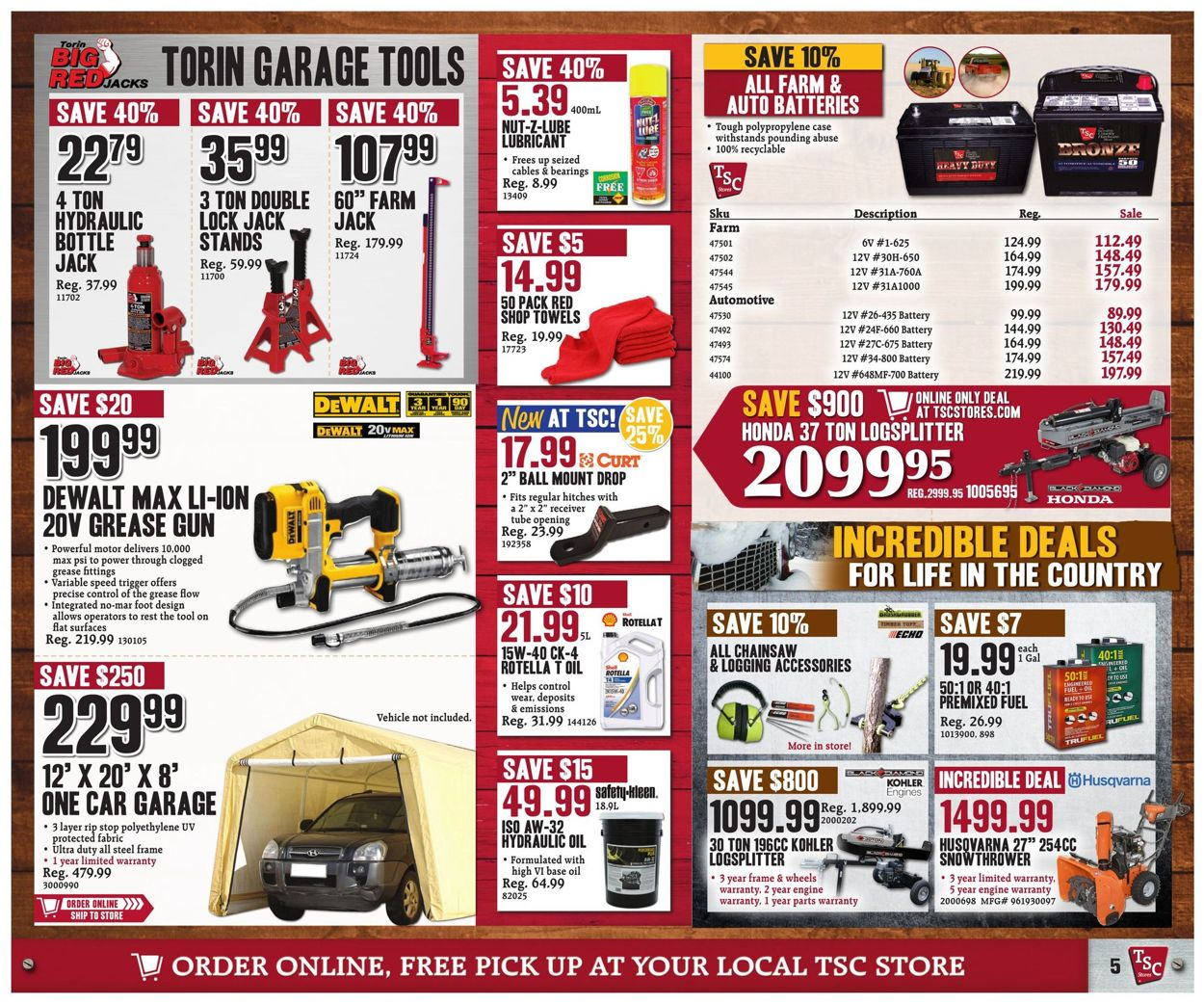 TSC Stores Flyer - 01/10-01/16/2020 (Page 7)