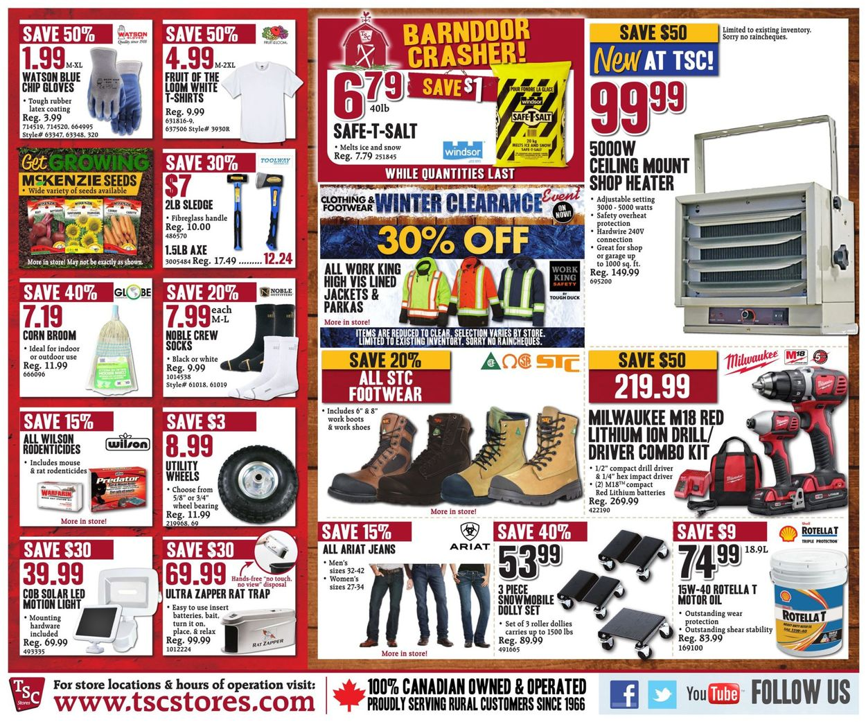 TSC Stores Flyer - 01/10-01/16/2020 (Page 10)