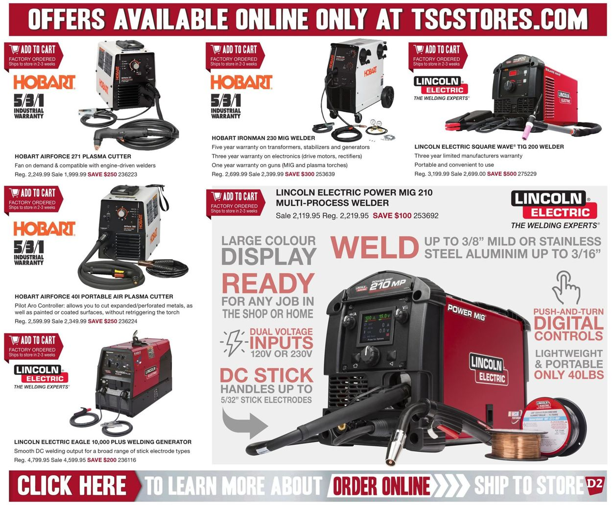 TSC Stores Flyer - 01/10-01/16/2020 (Page 12)