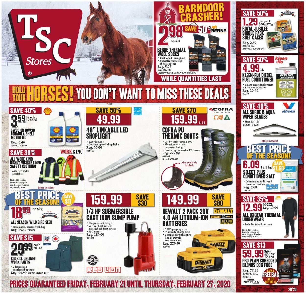 TSC Stores Flyer - 02/21-02/27/2020