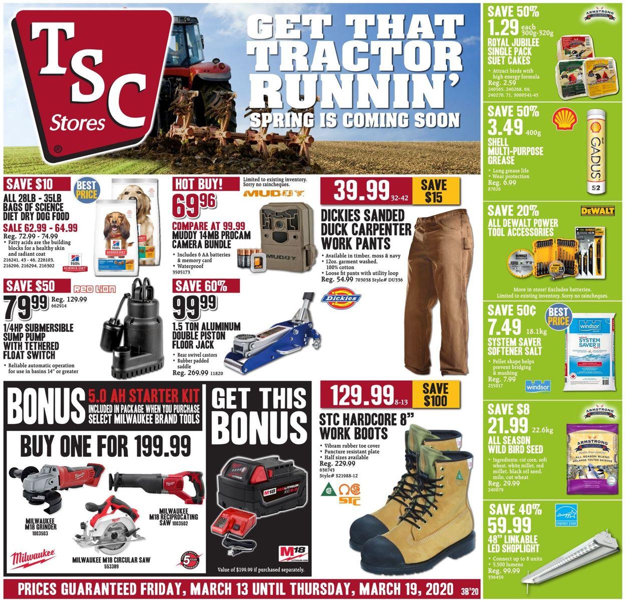 TSC Stores Flyer - 03/13-03/19/2020