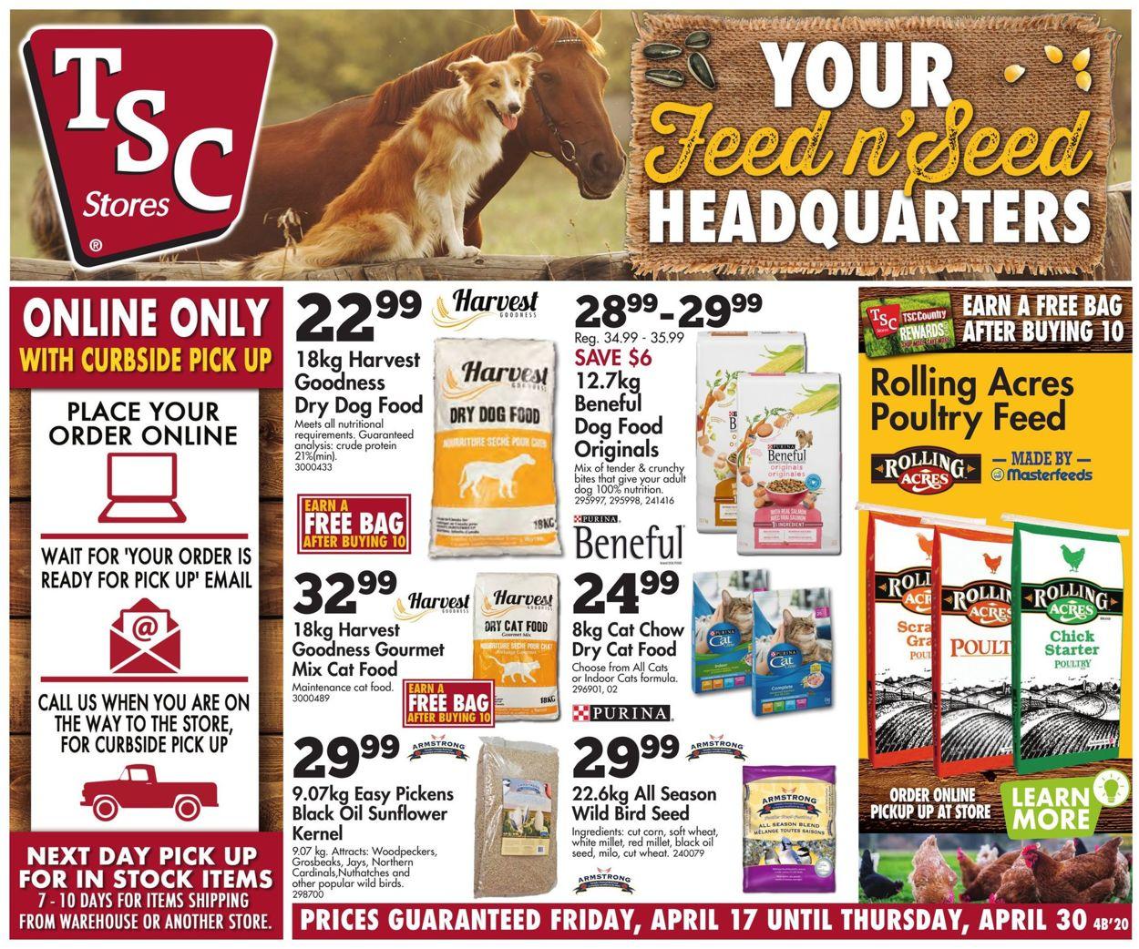 TSC Stores Flyer - 04/17-04/30/2020