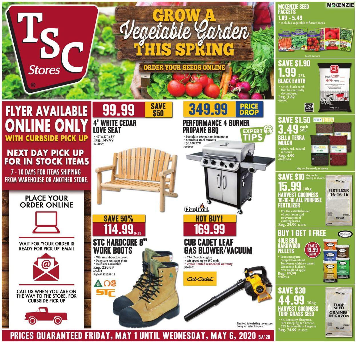TSC Stores Flyer - 05/01-05/06/2020