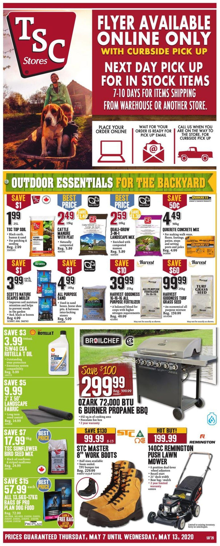 TSC Stores Flyer - 05/07-05/13/2020