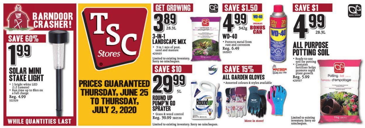TSC Stores Flyer - 06/25-07/02/2020