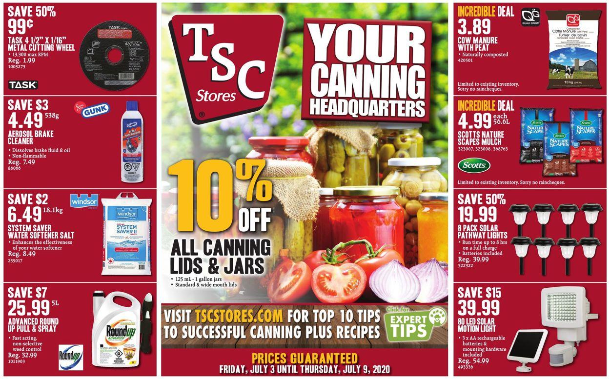 TSC Stores Flyer - 07/03-07/09/2020