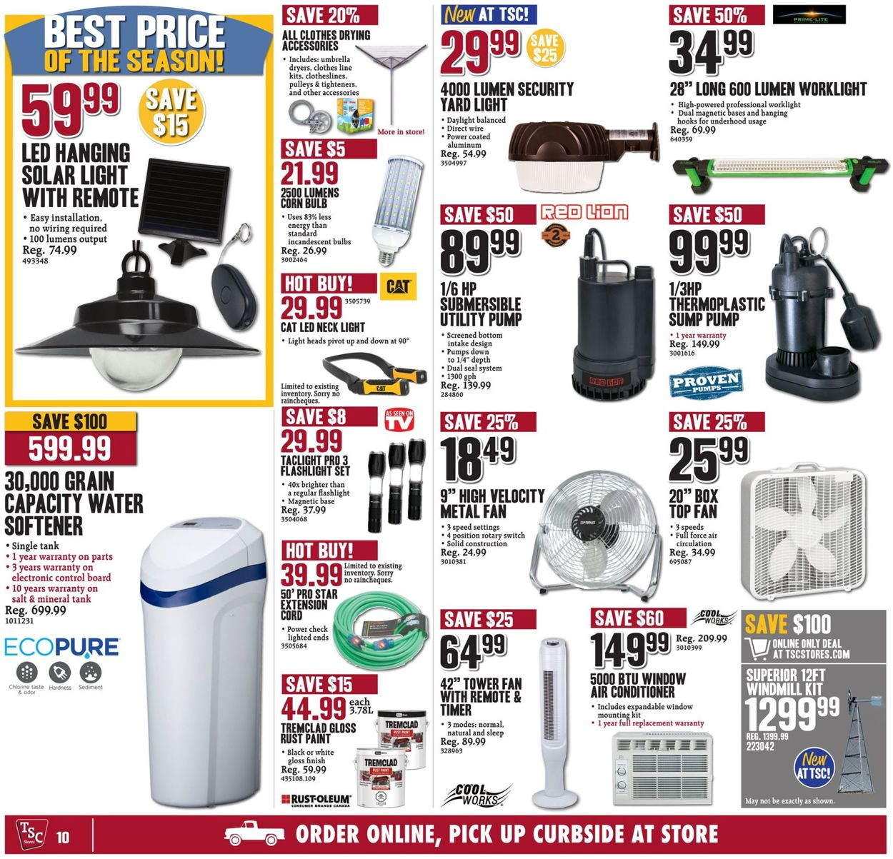 TSC Stores Flyer - 07/10-07/16/2020 (Page 10)