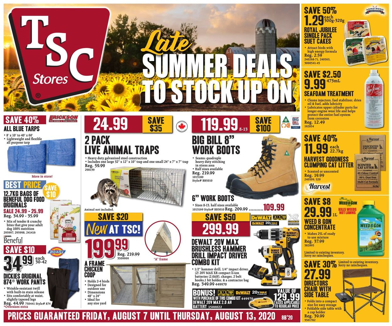 TSC Stores Flyer - 08/07-08/13/2020 (Page 4)