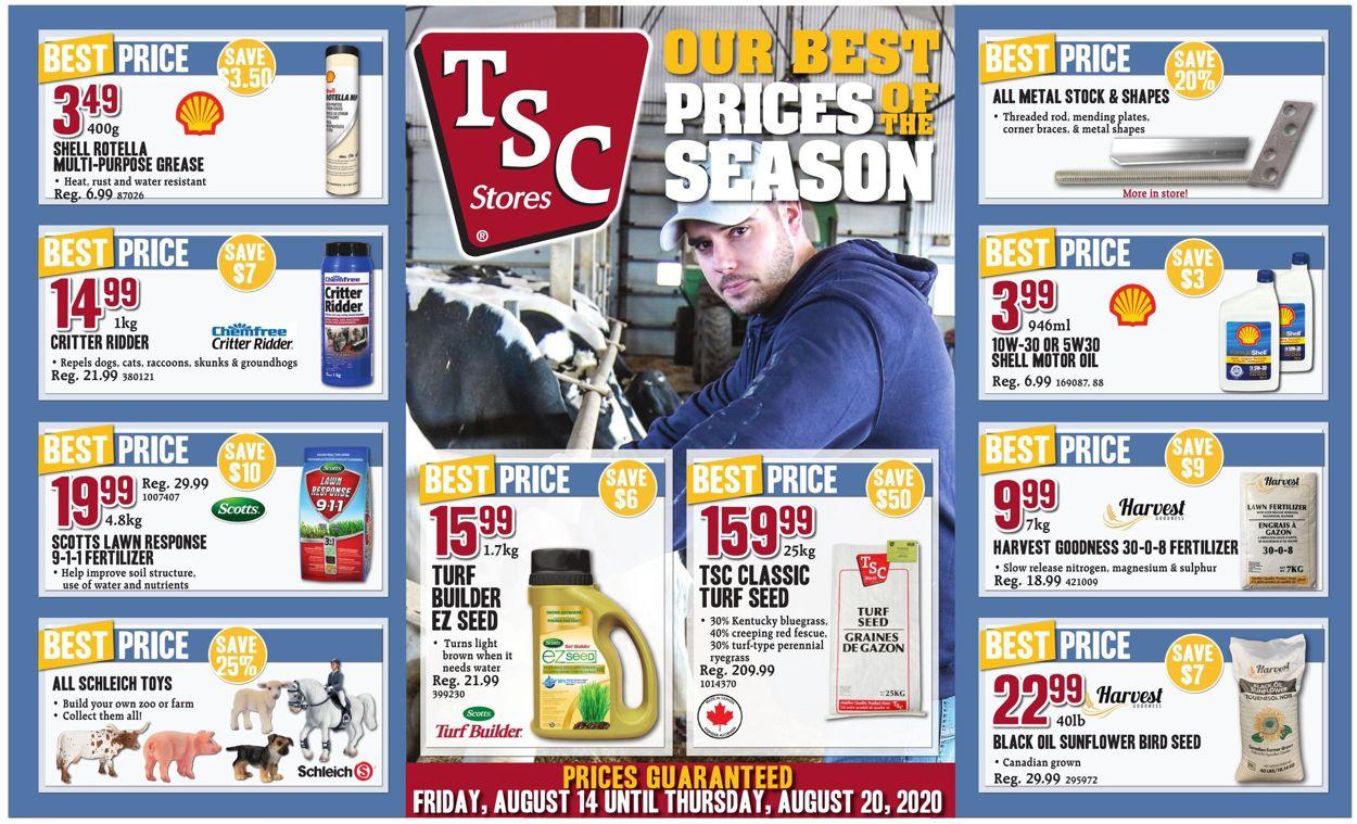 TSC Stores Flyer - 08/14-08/20/2020