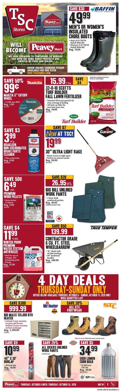 TSC Stores Flyer - 10/08-10/15/2020
