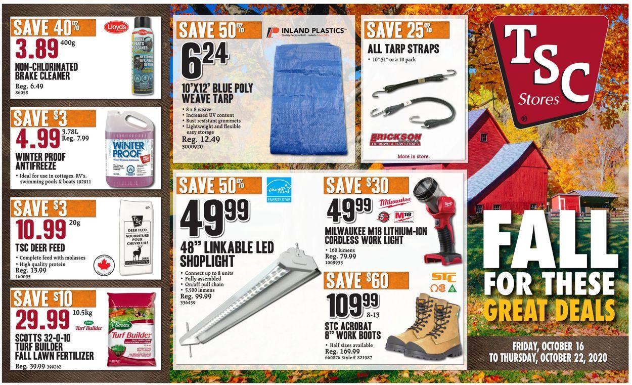 TSC Stores Flyer - 10/16-10/22/2020