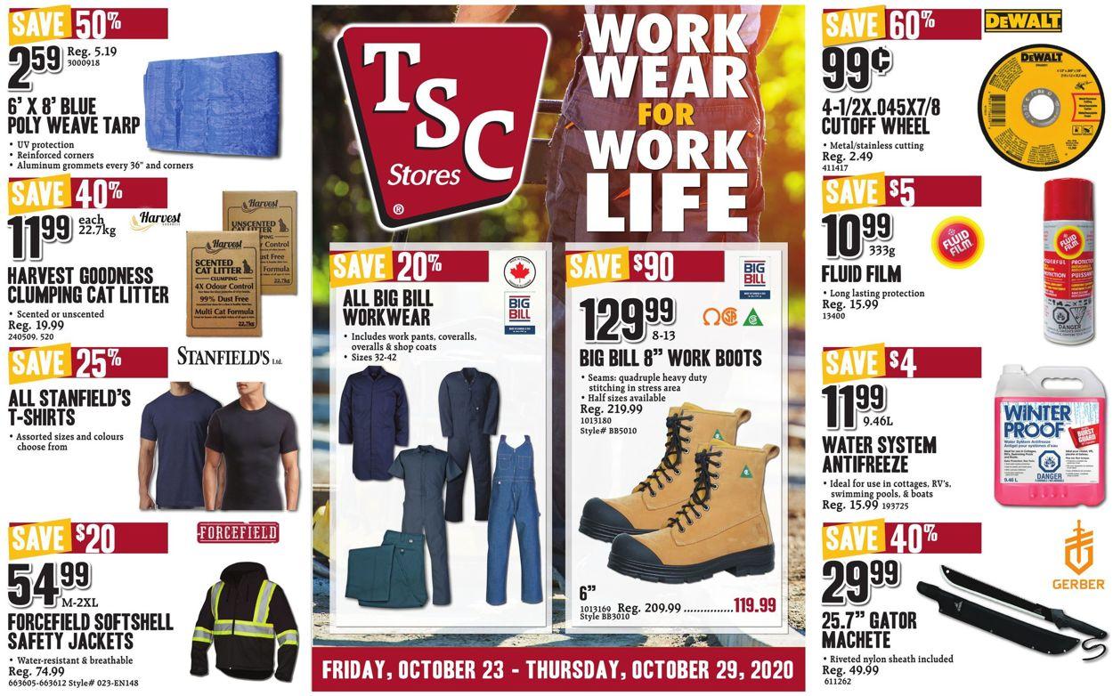 TSC Stores Flyer - 10/23-10/29/2020