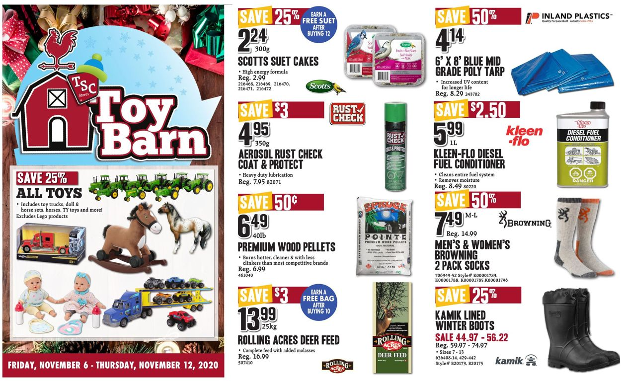 TSC Stores - Holiday 2020 Flyer - 11/06-11/12/2020