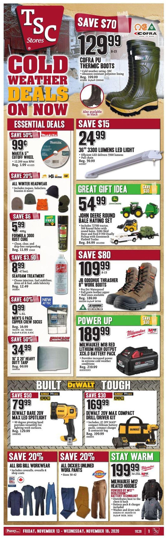 TSC Stores Flyer - 11/13-11/18/2020