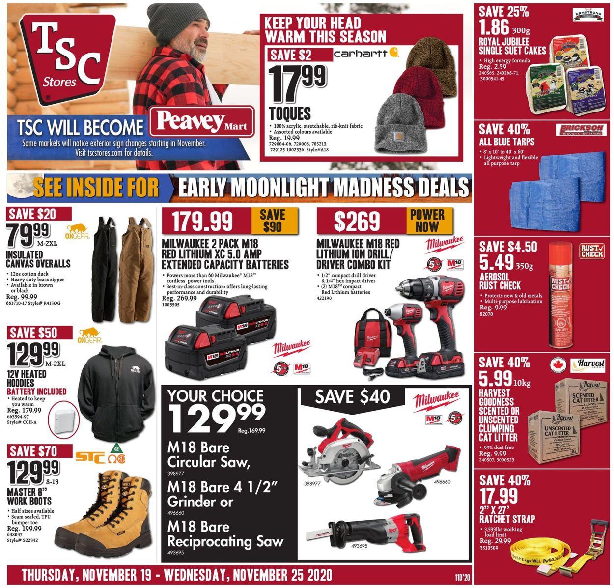 TSC Stores Flyer - 11/19-11/25/2020
