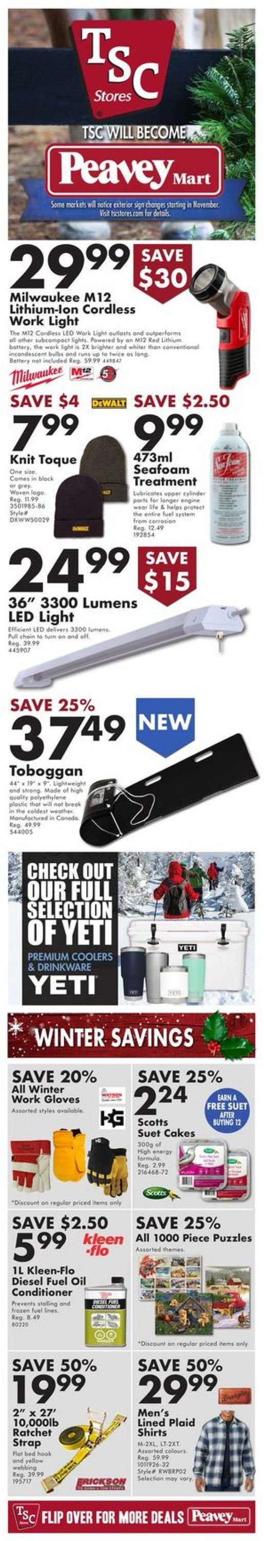 TSC Stores - Holiday 2020 Flyer - 12/04-12/09/2020