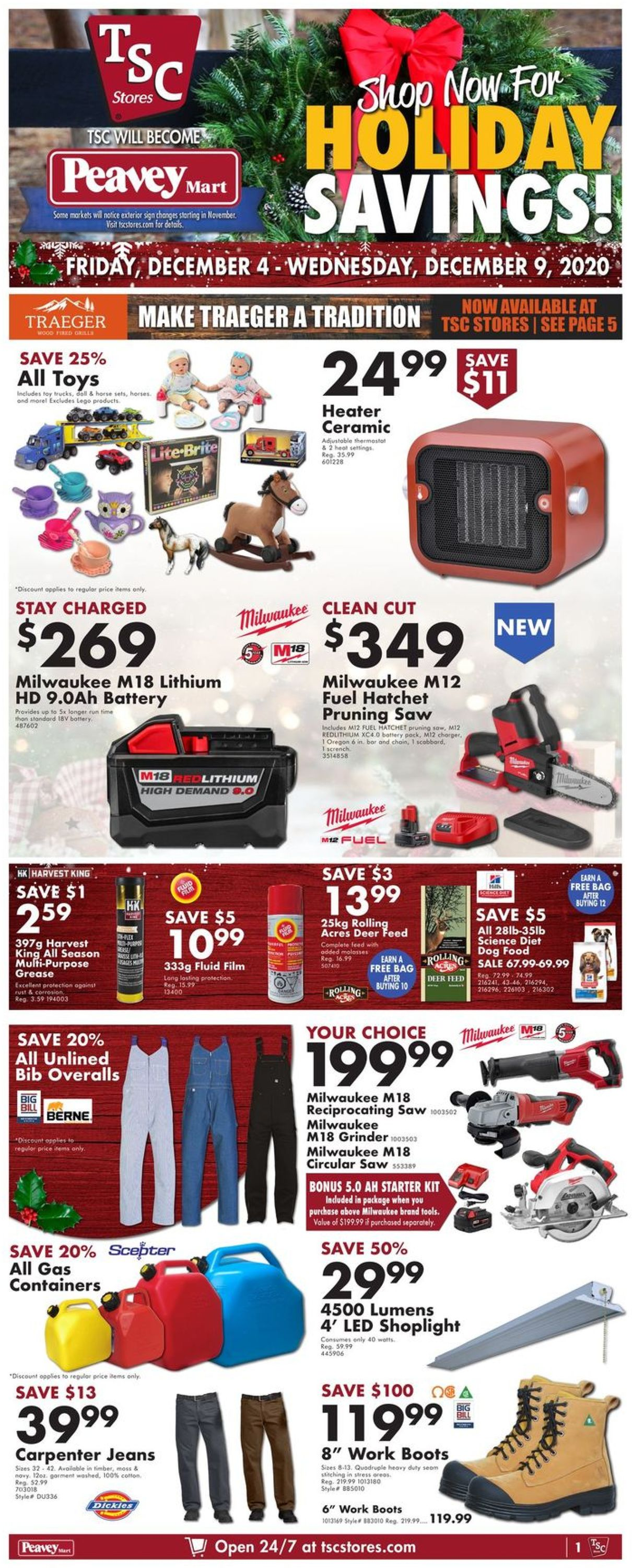 TSC Stores - Holiday 2020 Flyer - 12/04-12/09/2020 (Page 3)