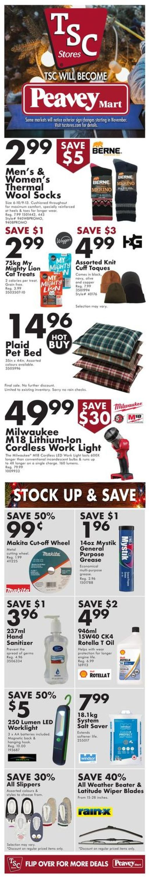 TSC Stores - Holiday 2020 Flyer - 12/10-12/16/2020