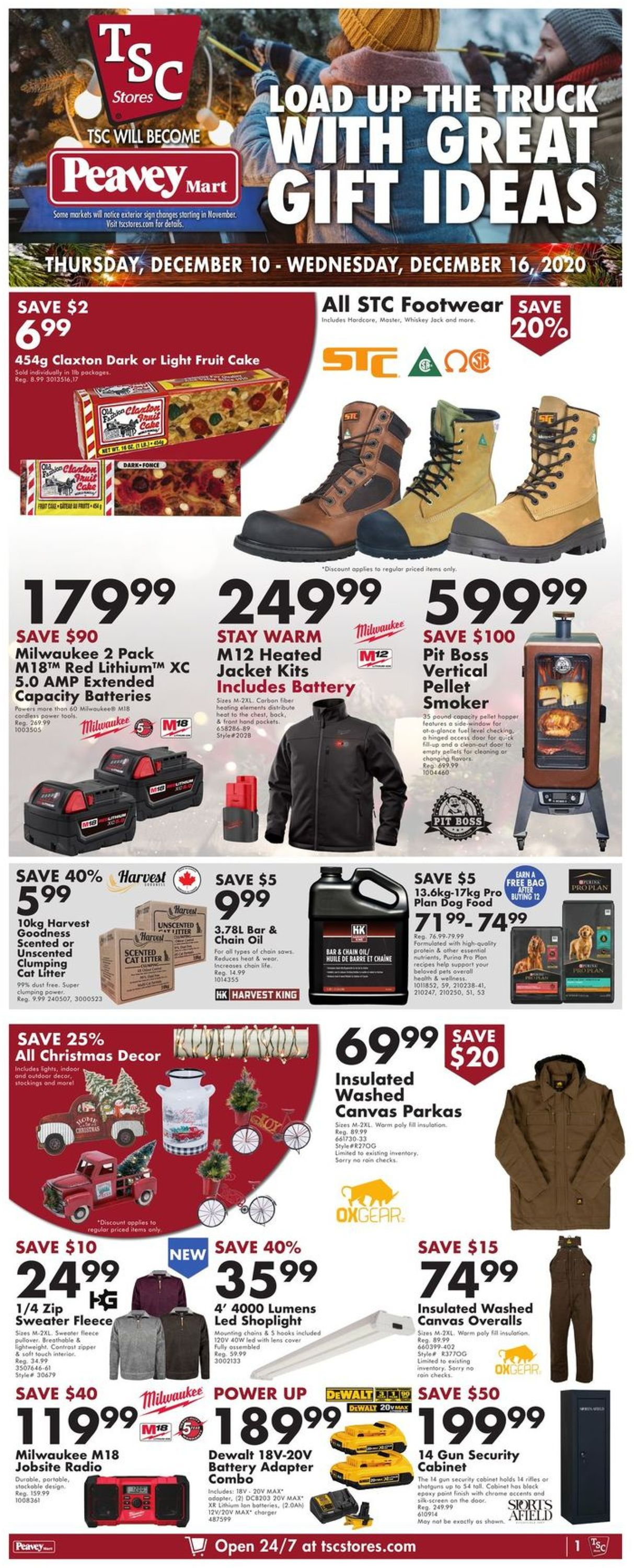 TSC Stores - Holiday 2020 Flyer - 12/10-12/16/2020 (Page 3)