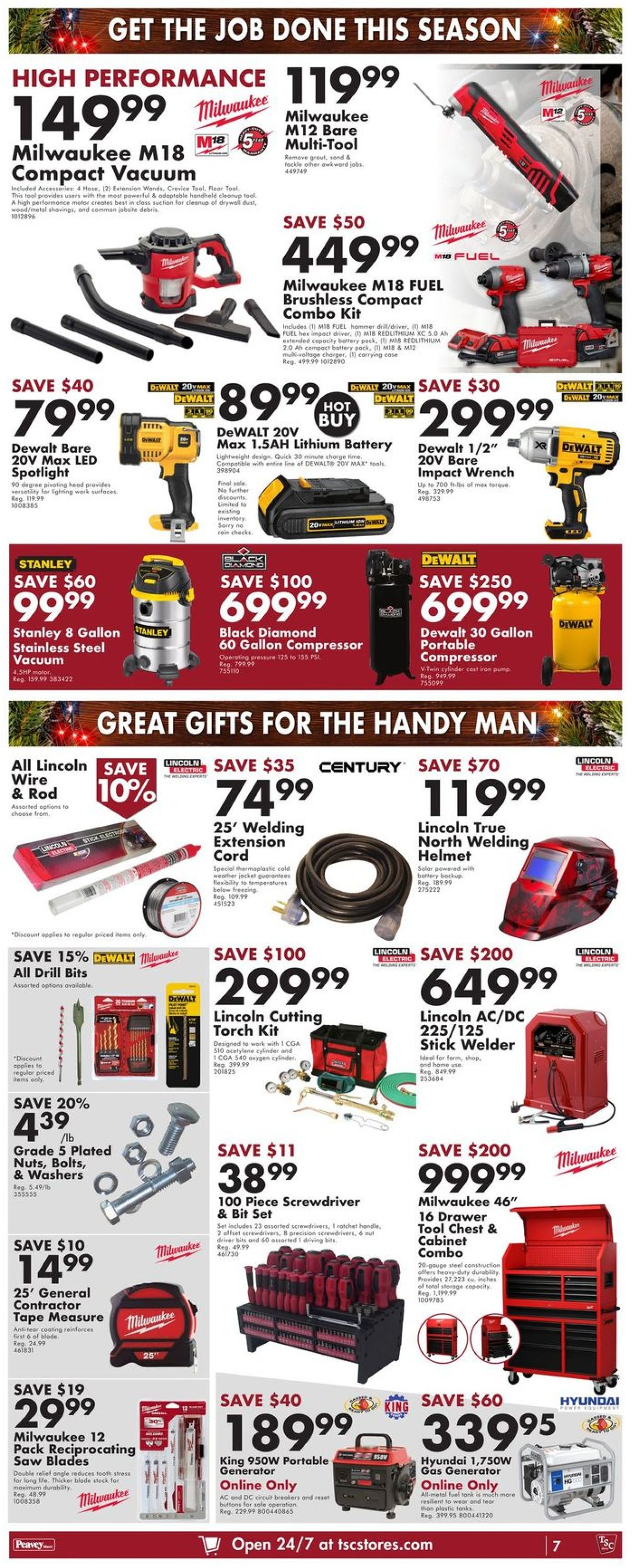 TSC Stores - Holiday 2020 Flyer - 12/10-12/16/2020 (Page 11)
