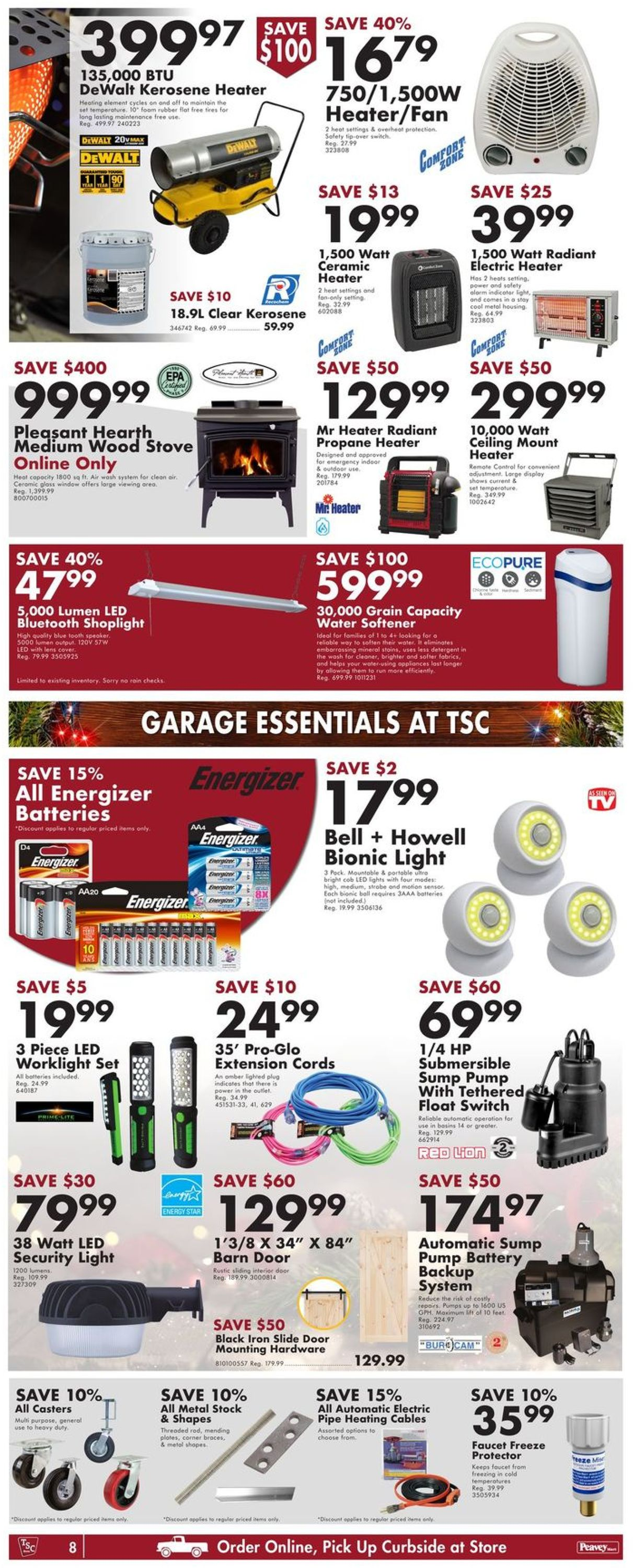 TSC Stores - Holiday 2020 Flyer - 12/10-12/16/2020 (Page 12)