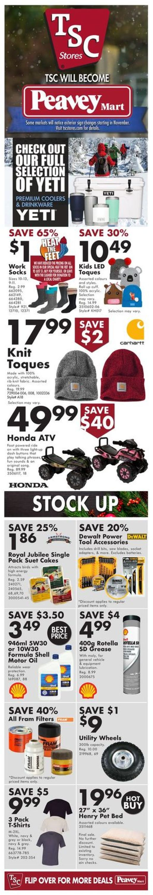 TSC Stores - Holiday 2020 Flyer - 12/17-12/23/2020
