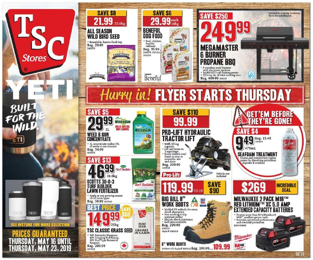 TSC Stores Flyer - 05/16-05/23/2019