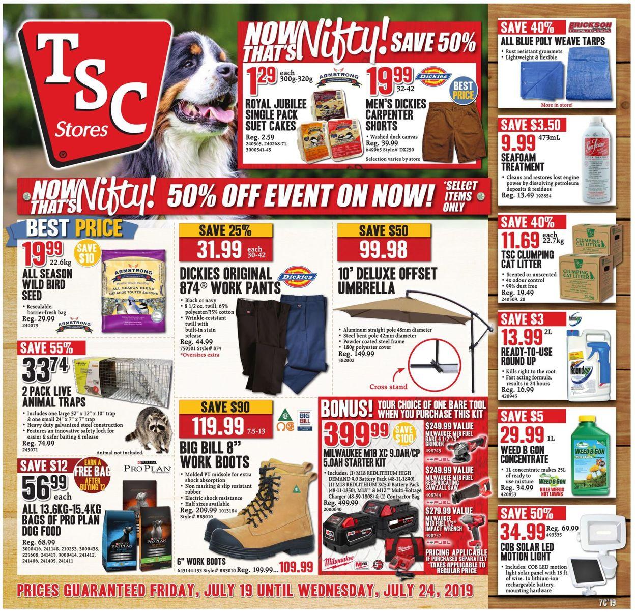 TSC Stores Flyer - 07/19-07/24/2019