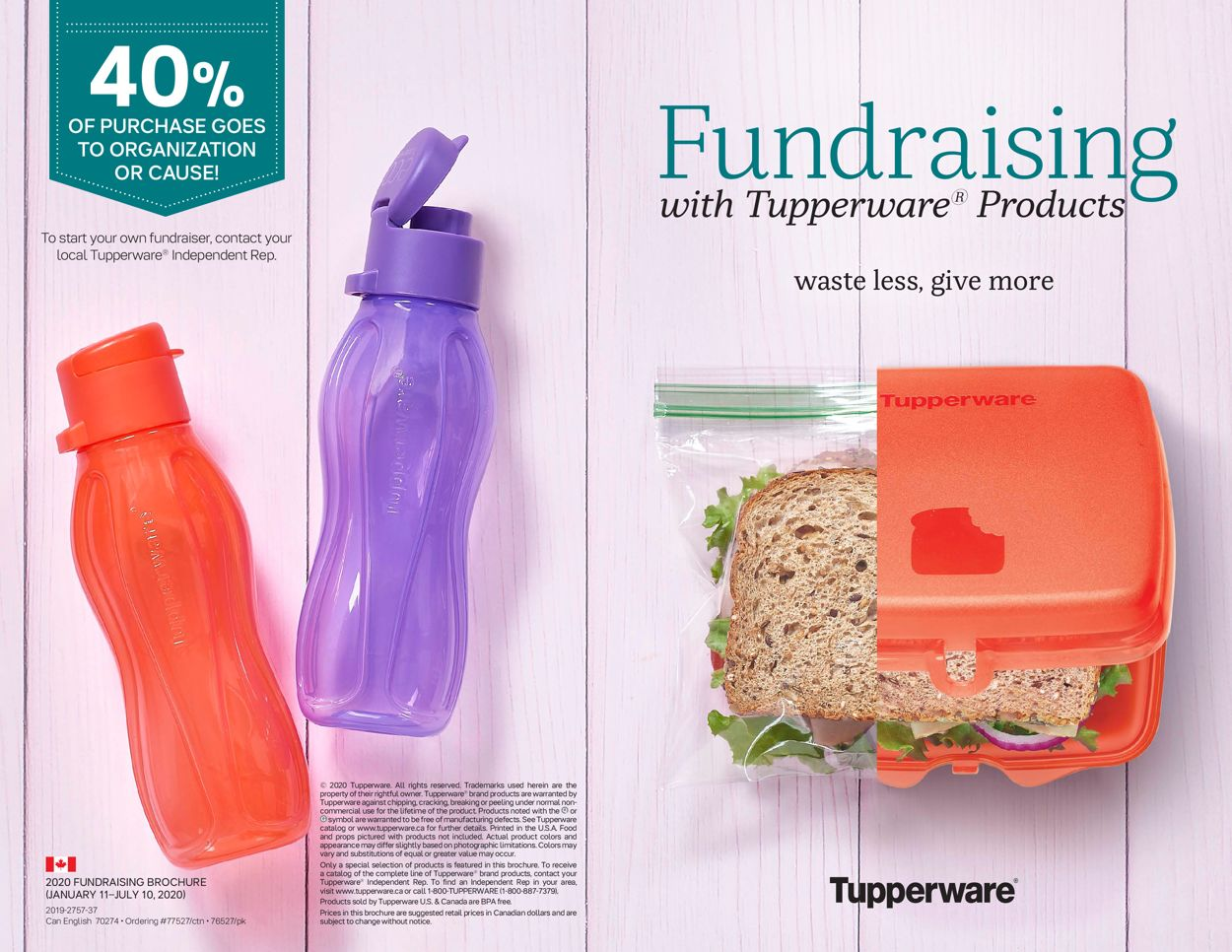 Tupperware Flyer - 01/11-07/11/2020