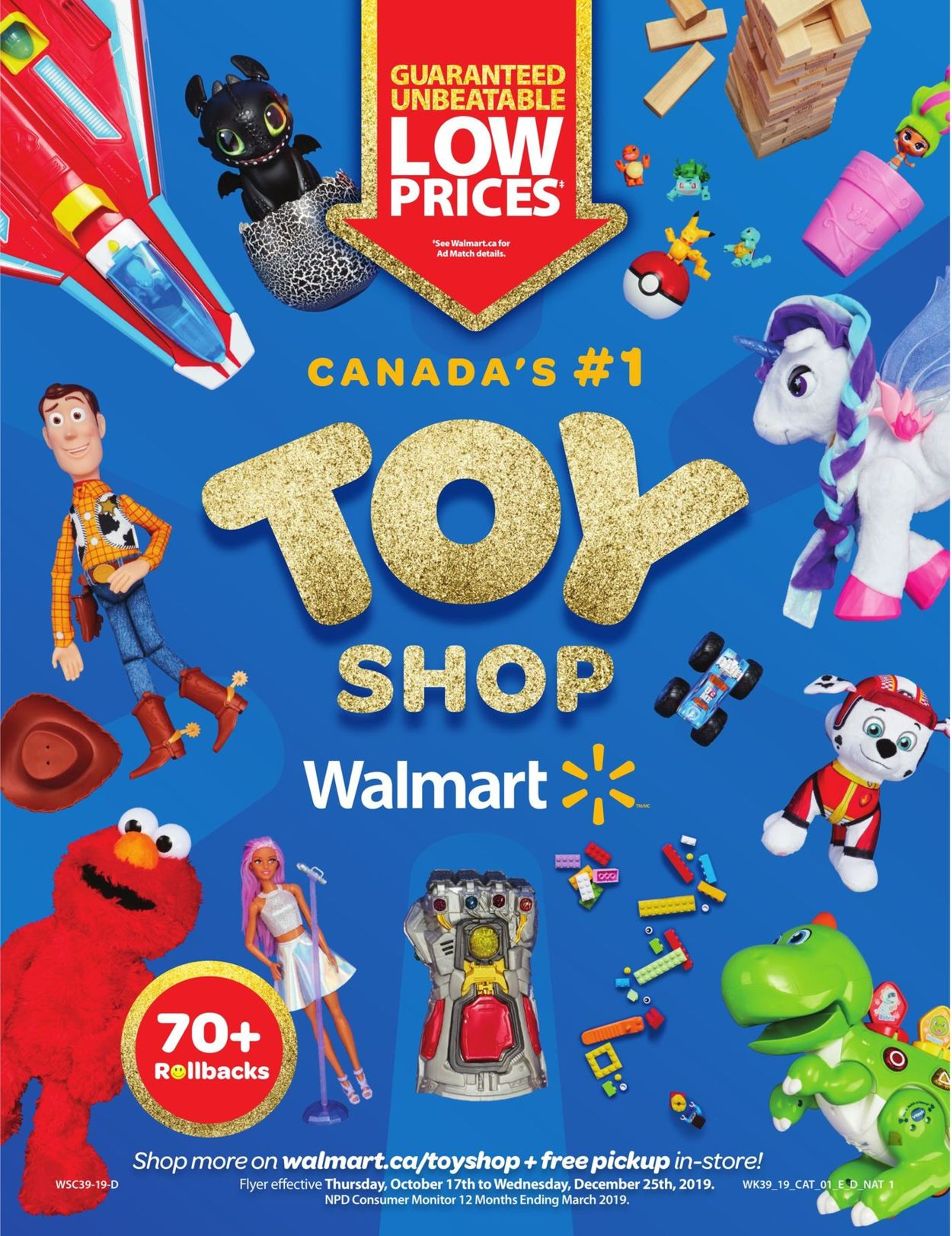 Walmart Flyer - 10/17-12/25/2019